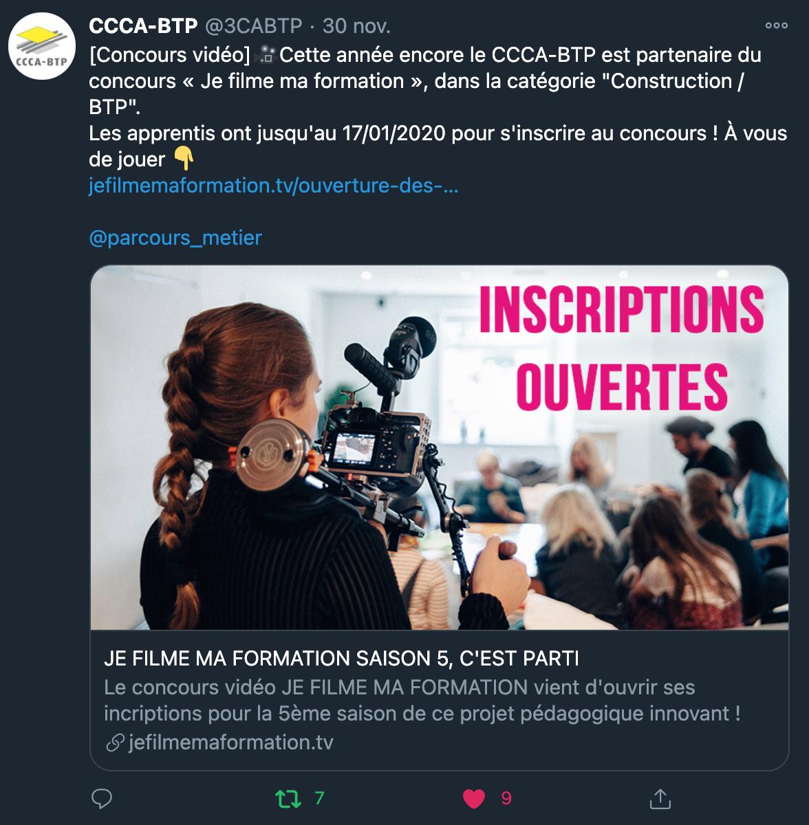CCCA BTP - 30/11/2020