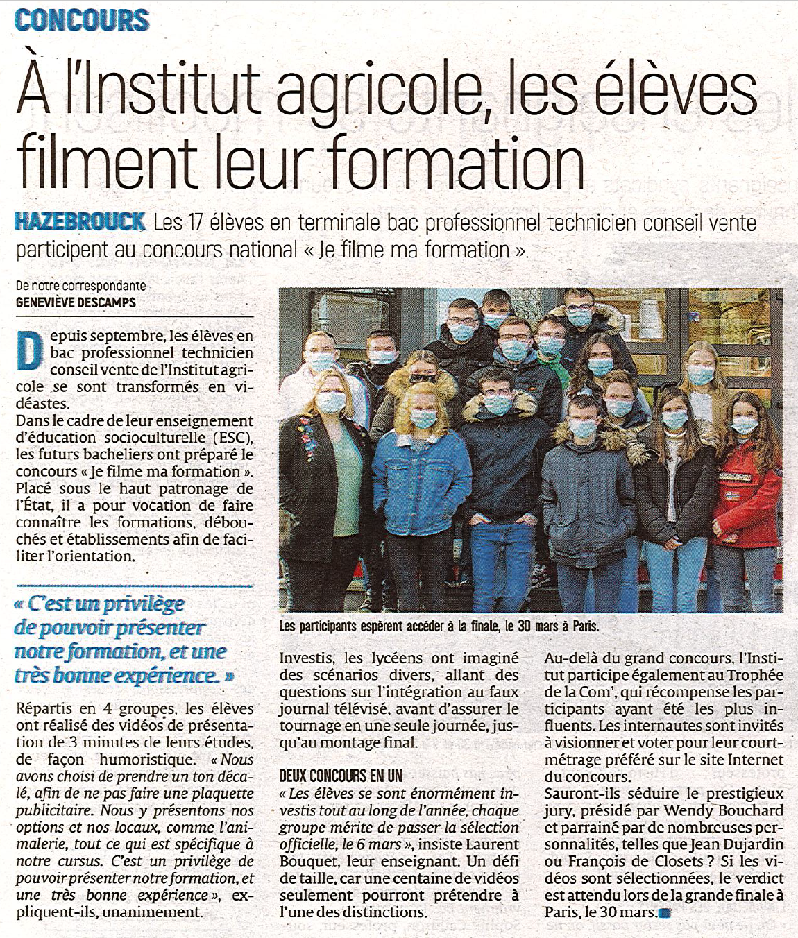 L'Indicateur des Flandres - 22/02/2021