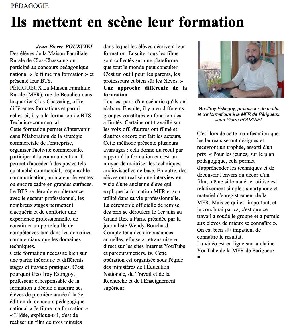 Le Courrier Français - 07/05/2021