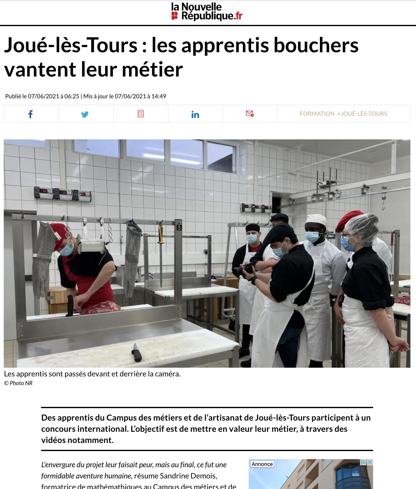 La Nouvelle République du Centre.fr - 07/06/2021